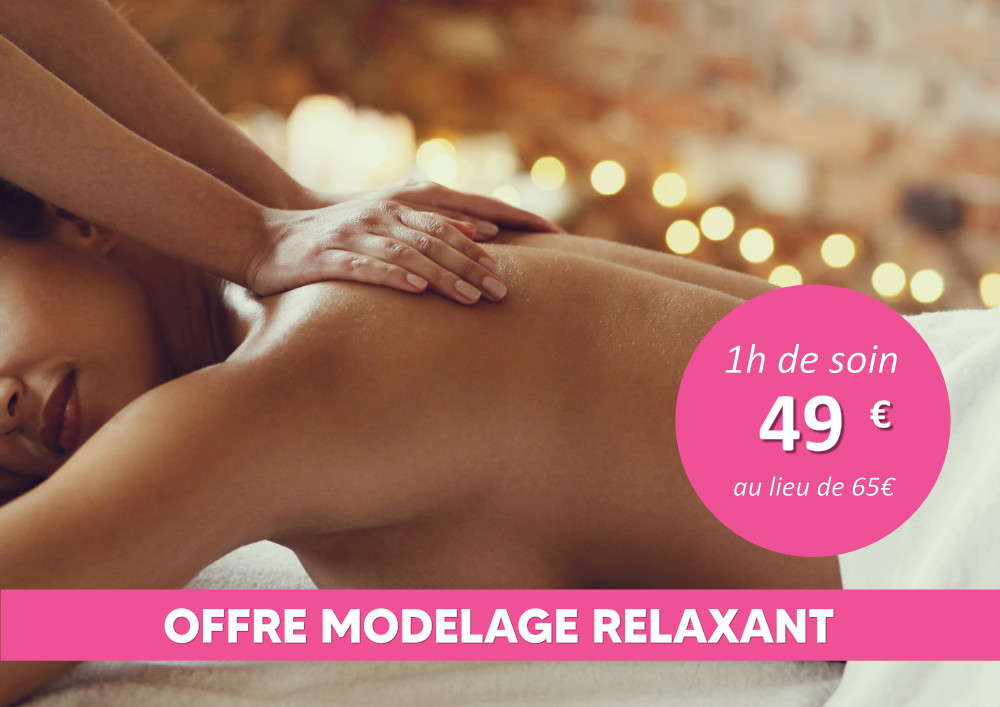 Offre modelage corps relaxant